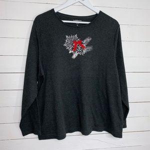 Croft & Barrow winter shirt, sz 2X